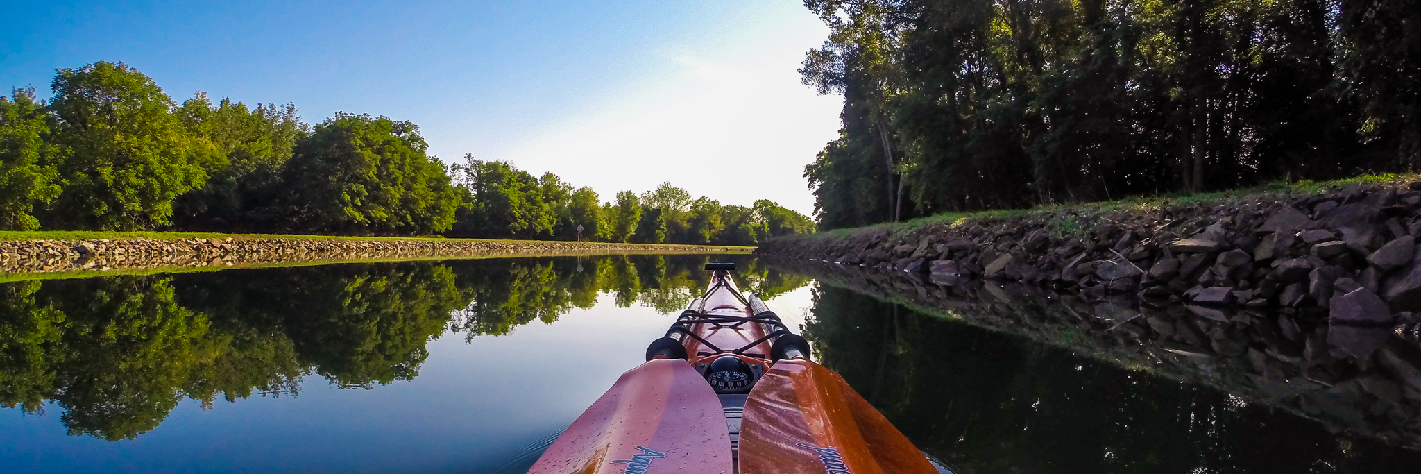 Chip MacAlpine, Erie Canal, Kayaking, Sally Supernova, Wilderness Systems