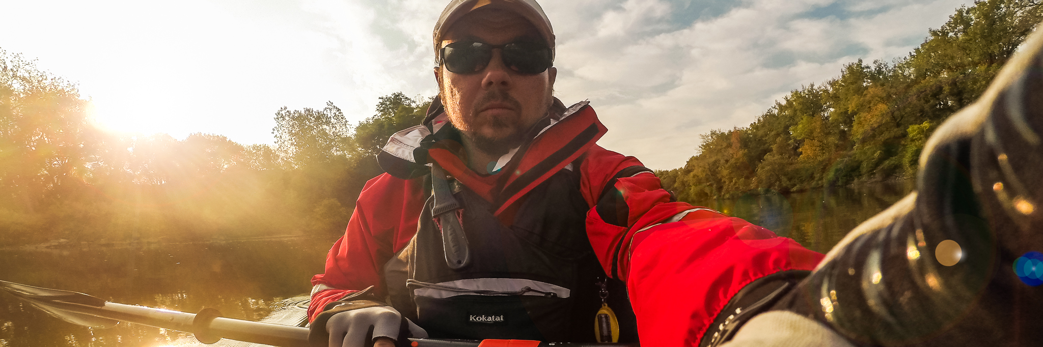 Chip MacAlpine, Erie Canal, Kayaking, Sunset